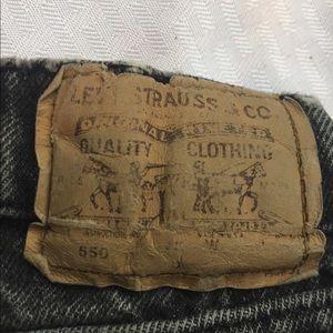 Levi  550 vintage boys jeans